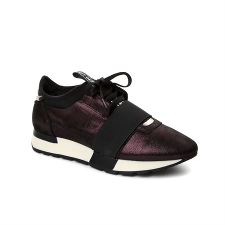 BORDO Kadın Sneaker BU-62420-10 JOHN MAY BURGUNDY