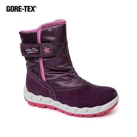 Superfit LİLA Erkek Çocuk Outdoor Bot 3-00012-90 SUPER FIT GORETEX LILA 23-25